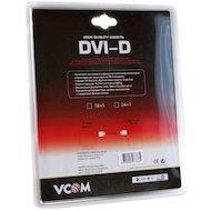 Фото Видео кабель Кабель DVI Dual Link VCOM 5.0м