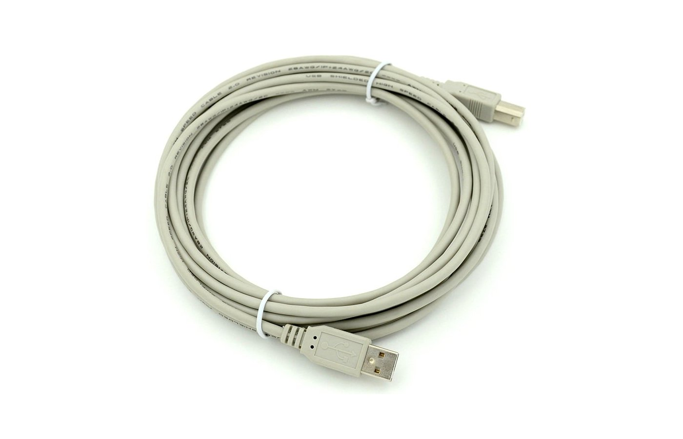 USB Кабель Кабель USB 2.0 A(m) - B(m) 5м (78443)
