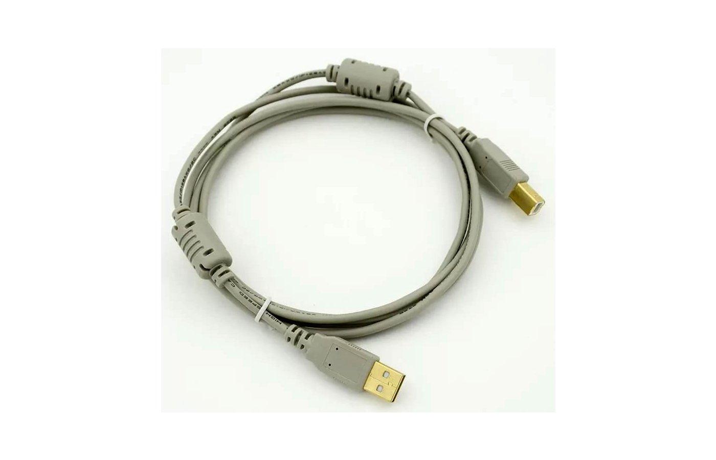 USB Кабель Кабель USB 2.0 PRO A(m) - B(m) феррит. фильт. 1.8м (58514)