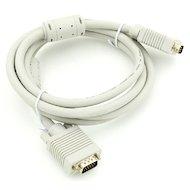 Фото Видео кабель Кабель VGA(m) - VGA(m) Premium. Тройной экран, ферритовые кольца 3м (694579)