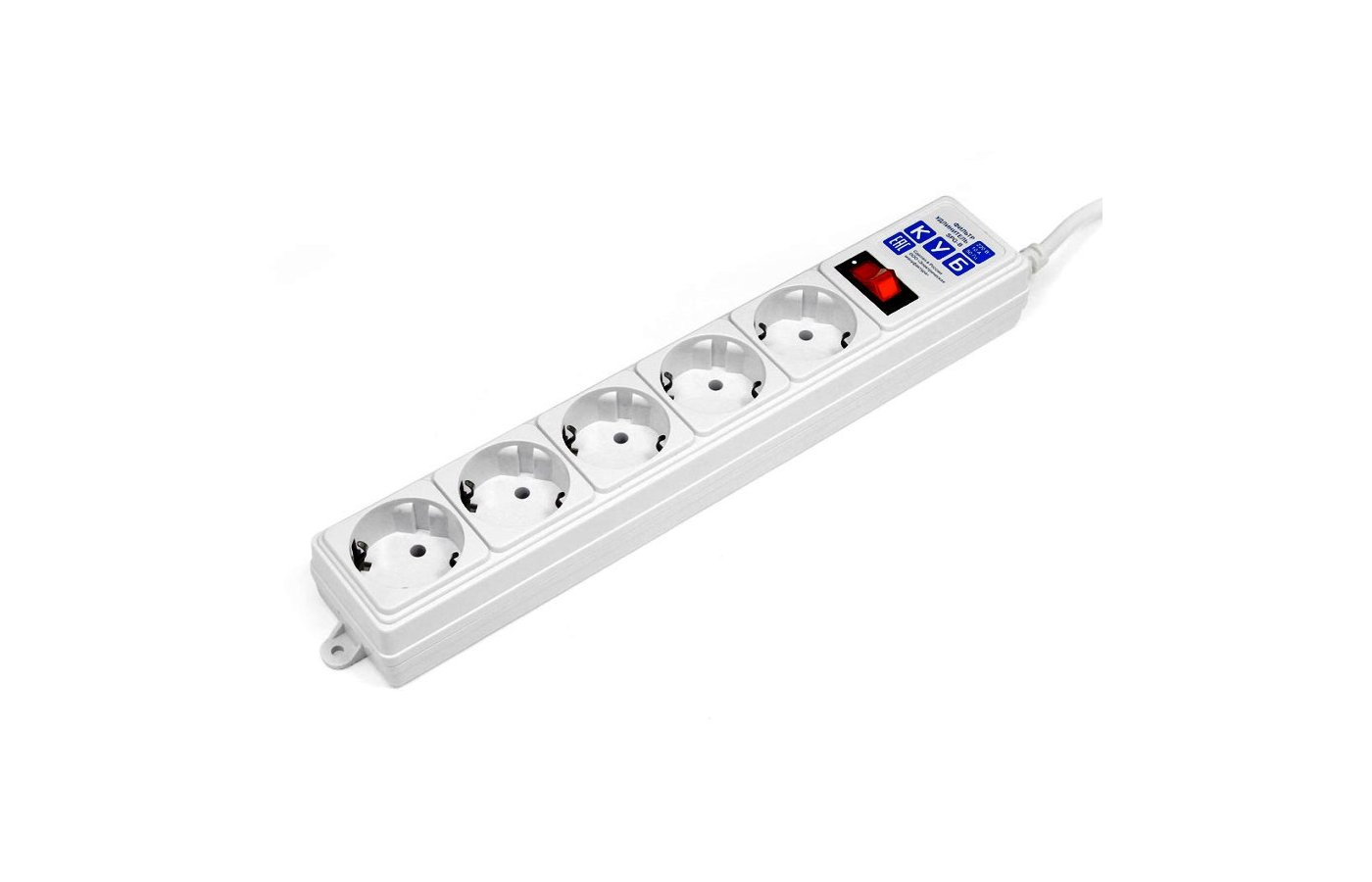 Сетевой фильтр POWERCUBE SPG-B-10-WHITE 3м белый
