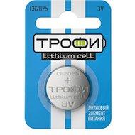 Батарейка Трофи CR2025-1BL 1шт.