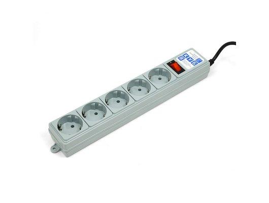 Сетевой фильтр Powercube SPG-B-6 1.9м (5 розеток) серый