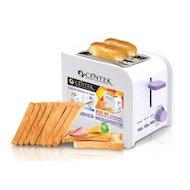 Тостер CENTEK CT-1422 белый/фиолетовый