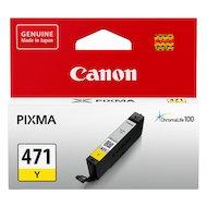 Картридж струйный Canon CLI-471Y 0403C001 желтый