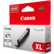 Картридж струйный Canon CLI-471XLGY 0350C001 серый