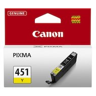 Фото Картридж струйный Canon CLI-451Y 6526B001 желтый