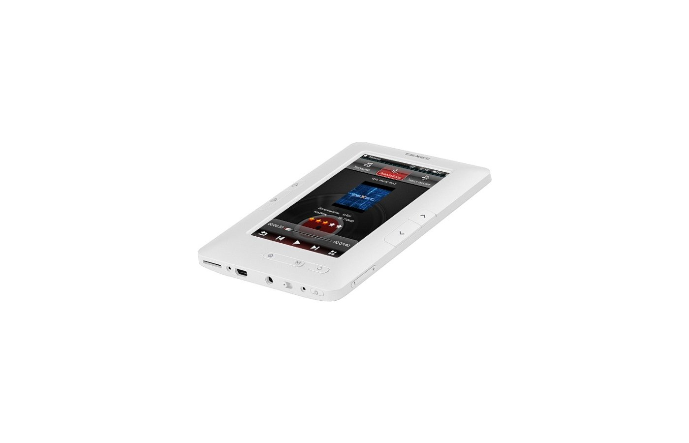 Электронные книги TeXet TB-434HD White
