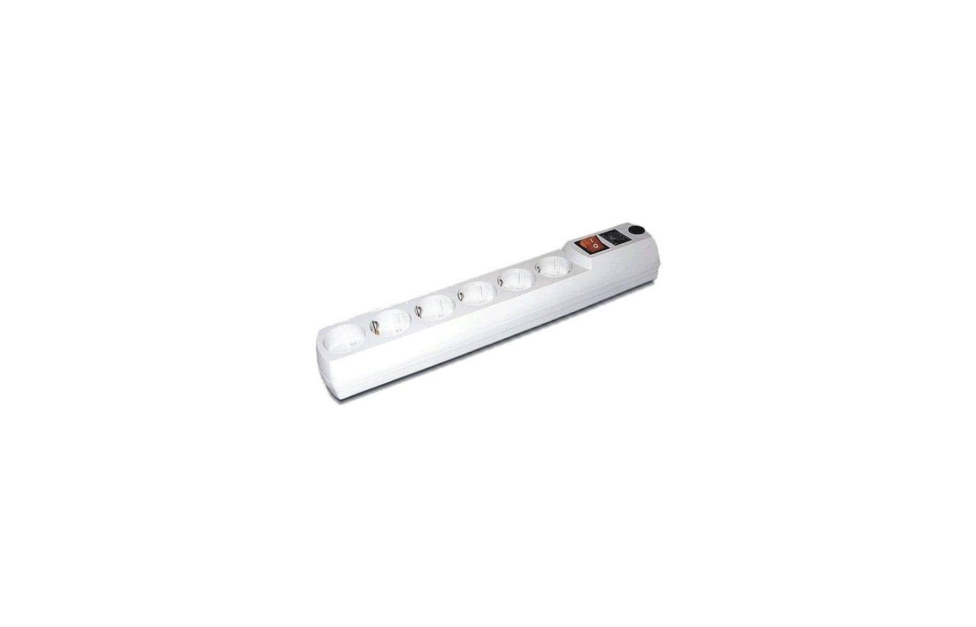 Сетевой фильтр Most H6 6роз./2м. белый