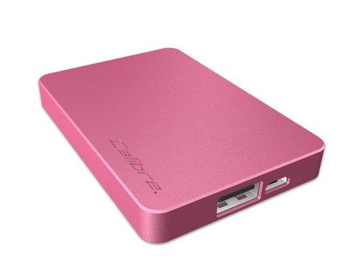 Портативный аккумулятор Calibre ULTRA GO NANO PINK 2500 mAh