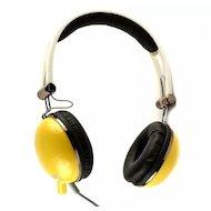 Фото Наушники с микрофоном проводные COSONIC CD668MV Yellow