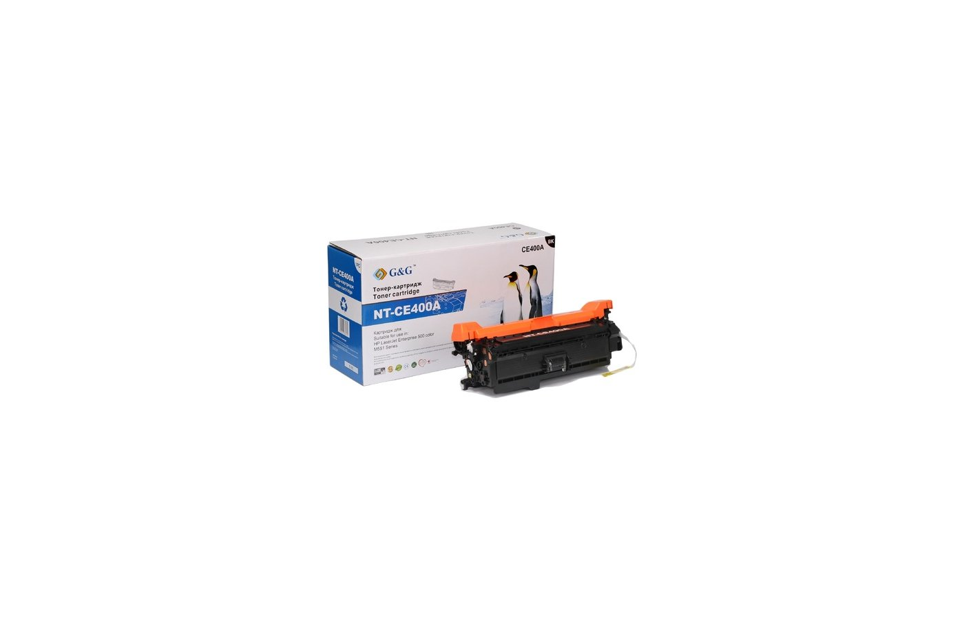 Картридж лазерный GG NT-CE400A Совместимый черный для HP LaserJet EGG NTerprise 500 color M551 (5500 стр)