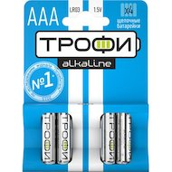 Батарейка Трофи AAА 4шт. (LR03-4BL)