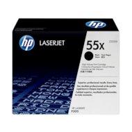 Фото Картридж лазерный HP 55X CE255X черный для HP LJ P3015 (12500стр.)