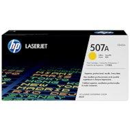 Картридж лазерный HP №507A CE402A желтый для HP CLJ M551 (5500стр.)