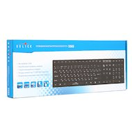 Фото Клавиатура проводная Oklick 556S черный USB slim Multimedia