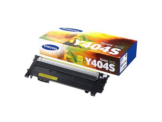 Картридж лазерный Samsung CLT-Y404S/XEV желтый (1000стр.)