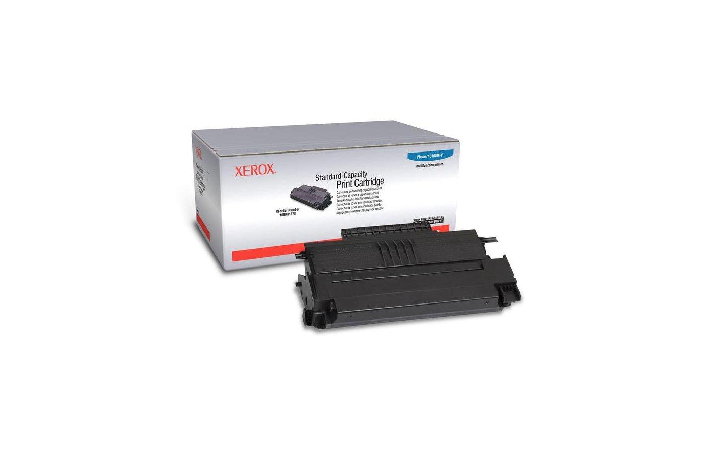 Картридж лазерный Xerox 106R01378 черный (3000стр.)
