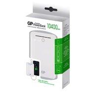 Фото Портативный аккумулятор GP Portable PowerBank GL301WE Li-Pol 10400mAh 2.1A+1A белый 2xUSB
