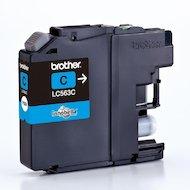 Фото Картридж струйный Brother LC563C голубой (600стр.)