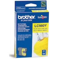Фото Картридж струйный Brother LC980Y желтый (260стр.)