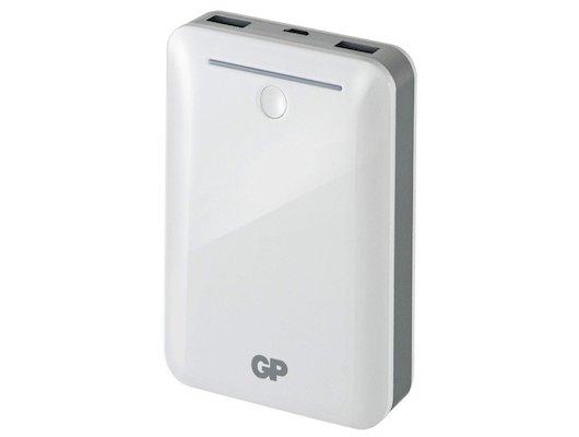 Портативный аккумулятор GP Portable PowerBank GL301WE Li-Pol 10400mAh 2.1A+1A белый 2xUSB