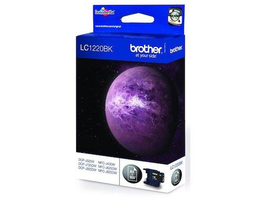 Картридж струйный Brother LC1220BK черный (300стр.)