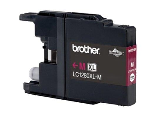 Картридж струйный Brother LC1280XLM пурпурный