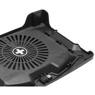 "Фото Подставка для ноутбука Xilence M400 (COO-XPLP-M400) 17""/1x200mm FAN/Metal+Plastic/Black"