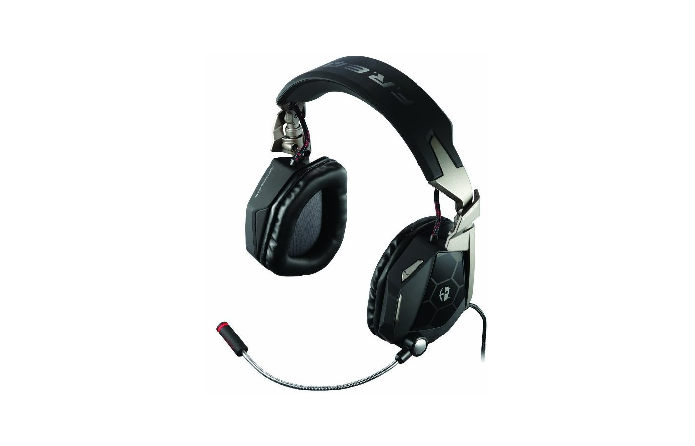 Игровые наушники проводные Saitek Mad Catz Cyborg F.R.E.Q. 5 Stereo Headset Mylar PET 50mm