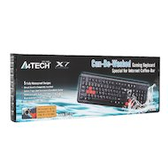 Фото Клавиатура проводная A4Tech X7-G300 Black USB