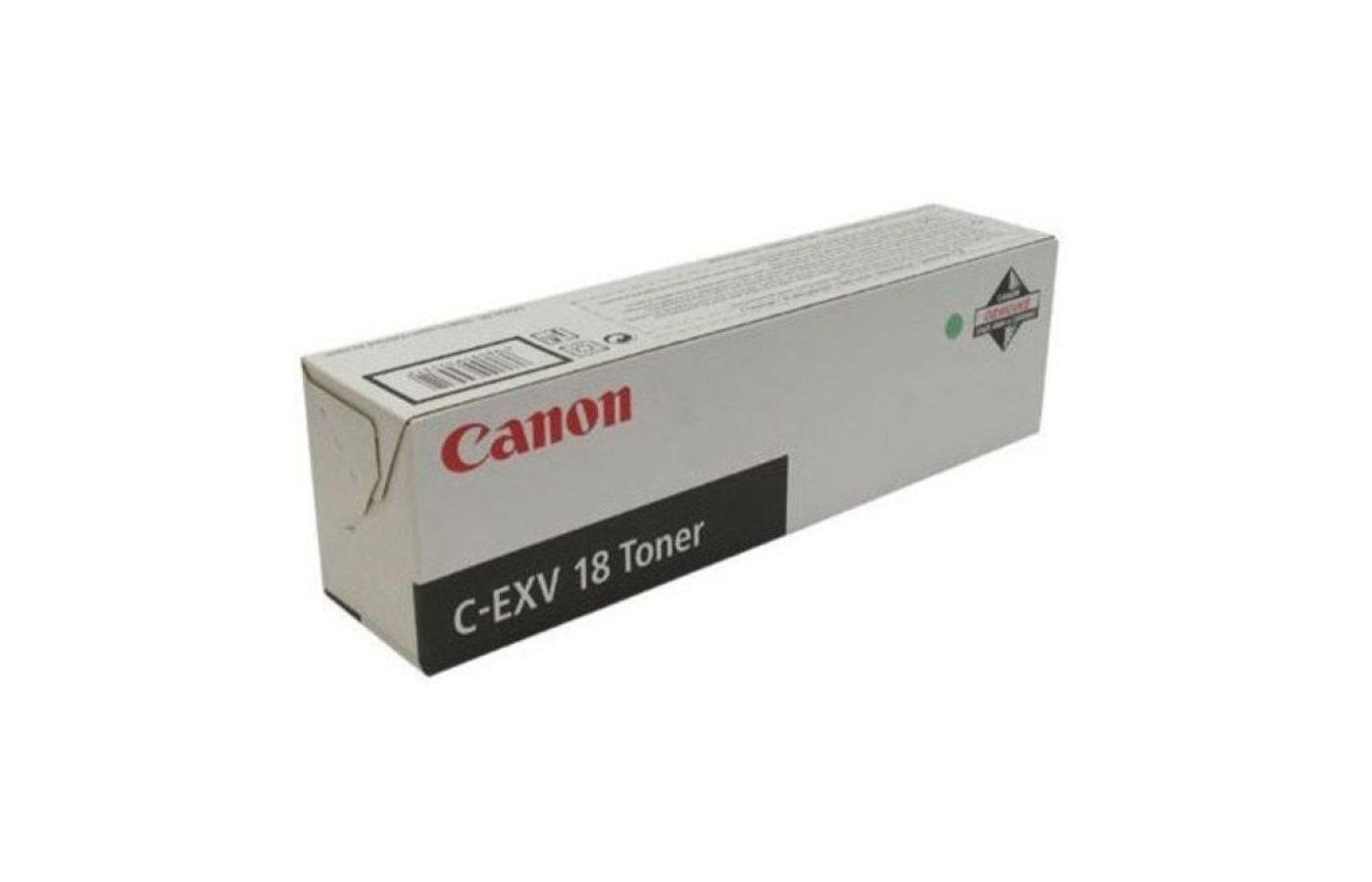 Картридж лазерный Canon C-EXV18 (GPR-22) 0386B002 черный туба 465гр. для копира iR1018/1022