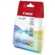 Фото Картридж струйный Canon CLI-521 2934B010 голубой+пурпурный+желтый для PIXMA MP540/620/630/980