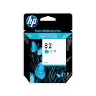 Картридж струйный HP 82 C4911A голубой для DJ 500/800