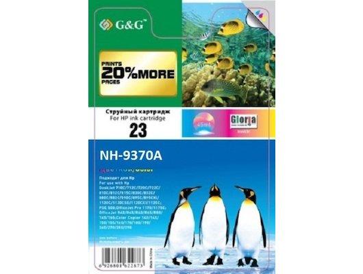Картридж струйный GG NH-C9370A Совместимый струйный черный№ 72, 130мл