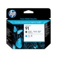 Картридж струйный HP 91 C9460A черный матовый/голубой печатающая головка для HP Z6100