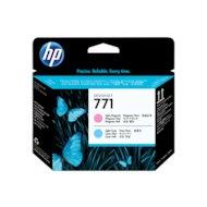 Фото Картридж струйный HP CE019A светло-голубой/светло-пурпурный печатающая головка для HP DJ Z6200