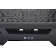 Фото Подставка для ноутбука Titan TTC-G25T/B2