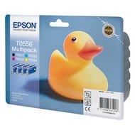 Картридж струйный Epson C13T05564010 черный+голубой+пурпурный+желтый