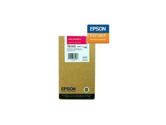 Картридж струйный Epson C13T614300 magenta для SP4450 (220ml)