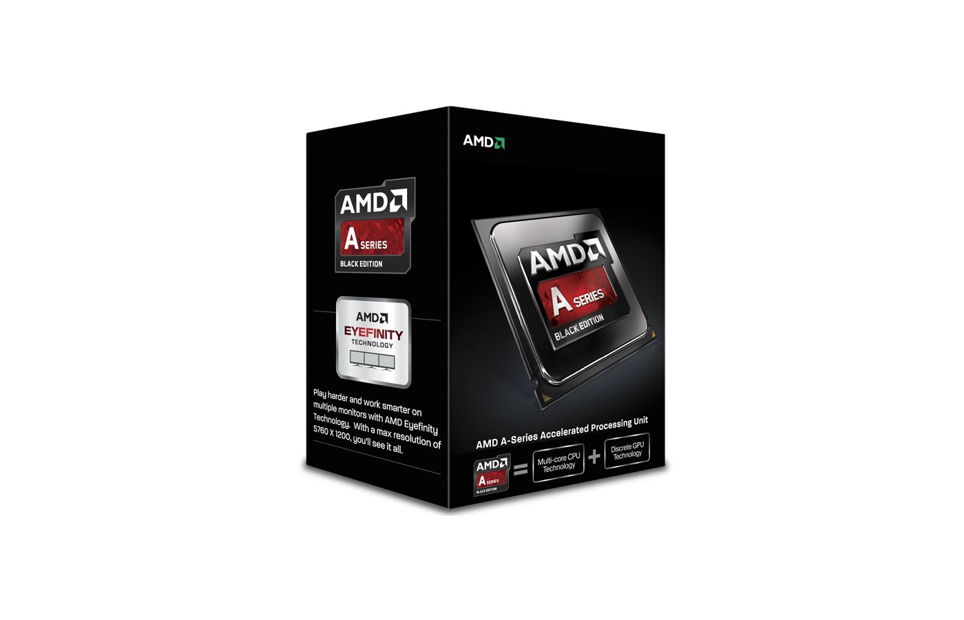 Процессор AMD A4 4000 FM2 (AD4000OKHLBOX) (3.0GHz/5000MHz/AMD Radeon HD 7480D) Box