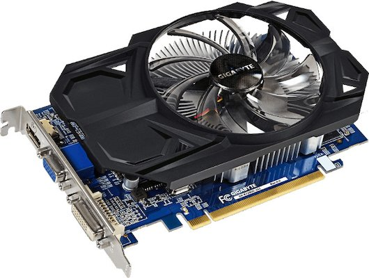 Видеокарта Gigabyte GV-R725OC-2GI DDR3 RTL