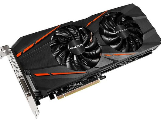 Видеокарта Gigabyte PCI-E GV-N1060G1 GAMING-6GD nVidia GeForce GTX 1060 6144Mb 192bit Ret