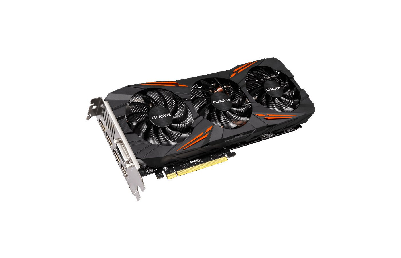 Видеокарта Gigabyte PCI-E GV-N1070G1 GAMING-8GD nVidia GeForce GTX 1070 8192Mb 256bit Ret