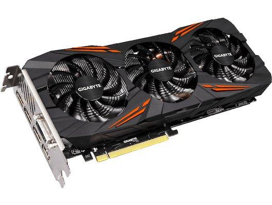 Видеокарта Gigabyte PCI-E GV-N1080G1 GAMING-8GD nVidia GeForce GTX 1080 8192Mb 256bit Ret