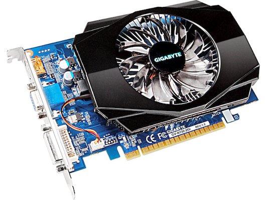 Видеокарта Gigabyte PCI-E GV-N730-2GI nVidia GeForce GT 730 2048Mb 128bit Ret