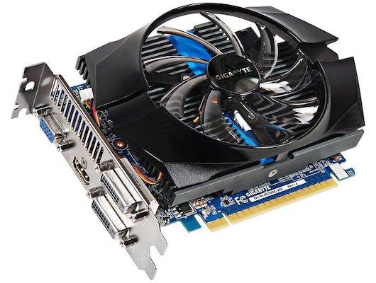 Видеокарта Gigabyte PCI-E GV-N740D5OC-2GI nVidia GeForce GT 740 2048Mb 128bit Ret