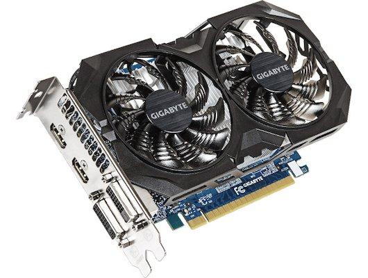 Видеокарта Gigabyte PCI-E GV-N75TWF2OC-4GI nVidia GeForce GTX 750Ti 4096Mb 128bit Ret