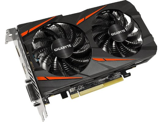 Видеокарта Gigabyte PCI-E GV-RX460WF2OC-2GD AMD Radeon RX 460 2048Mb 128bit Ret