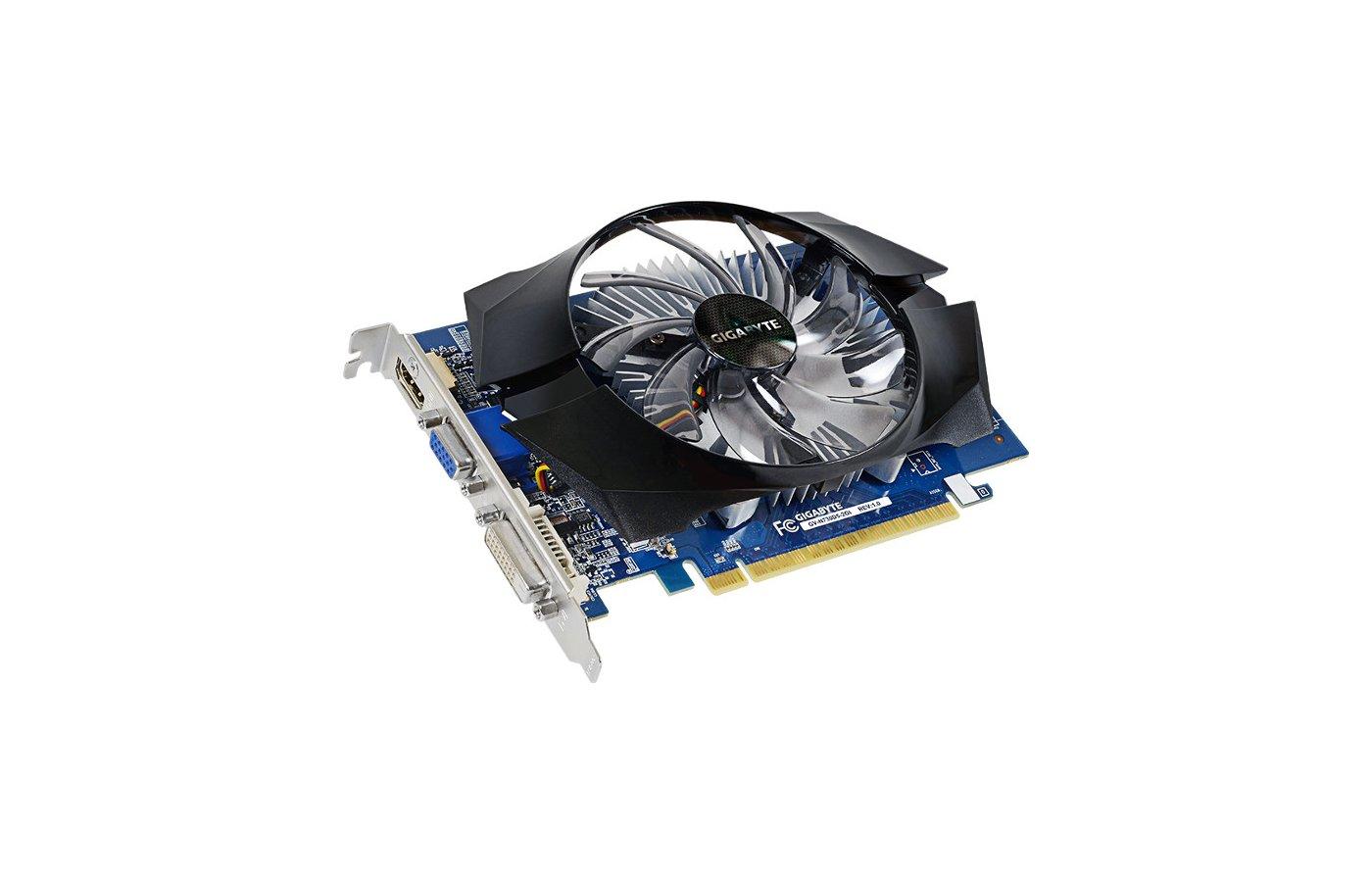 Видеокарта Gigabyte PCI-E GV-N730D5-2GI nVidia GeForce GT 730 2048Mb 64bit Ret